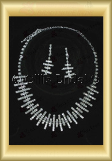 Wedding Accessories Necklace Wedding Jewelry Sets 4237