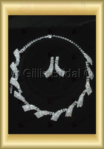 Wedding Accessories Necklace Wedding Jewelry Sets 4238