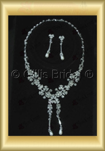Wedding Accessories Necklace Wedding Jewelry Sets 4243