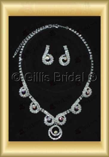Wedding Accessories Necklace Wedding Jewelry Sets 4244