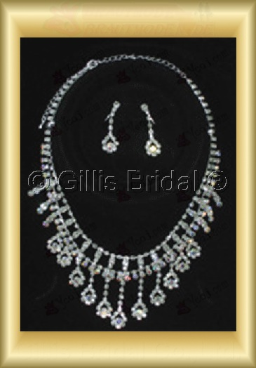 Wedding Accessories Necklace Wedding Jewelry Sets 4245
