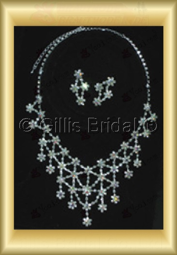 Wedding Accessories Necklace Wedding Jewelry Sets 4246