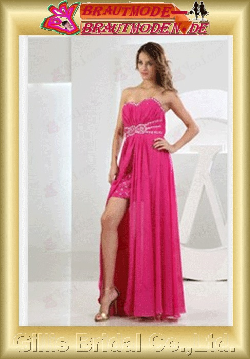 evening gowns Party Dresses ruffle Colors As shown in figure evening Prom Beading embroidery chiffon gillis800088