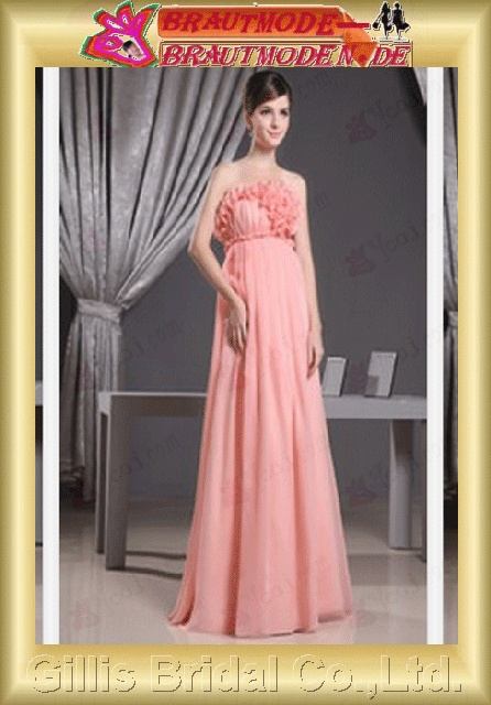 prom dresses Graduation Dresses ruffle prom dress Colors As shown in figure Pink bridal gown evening gillis800177