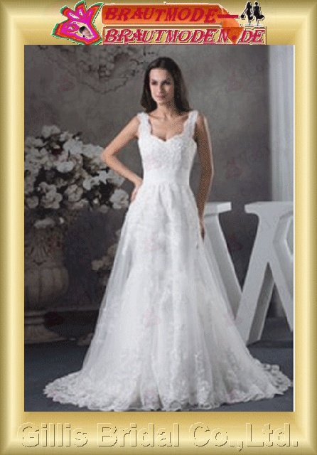 Satin Charmeuse Voile Applique appliqued appliques Off-the-shoulder Monarch Royal A-line Exquisite elegant modest A-line bridal gowns A-line wedding dresses Colors As shown in figure White Beading embroidery floating tablets 800430