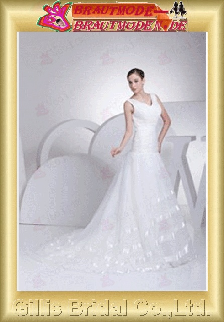 Organza Taffeta pleated ruffle Embroidery beaded Beading embroidery bandage Off-the-shoulder Monarch Royal A-line Simple Simple Exquisite sexy elegant modest elegant A-line bridal gowns A-line wedding dresses ruffle White 800511