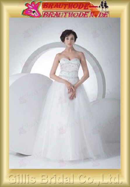 Voile Tulle beads Embroidery beaded Beading embroidery Zip strapless Floor-length A-line Simple Exquisite Fashion elegant modest elegant A-line bridal gowns A-line wedding dresses Strapless Wedding Dresses Strapless bridal gowns White 800529