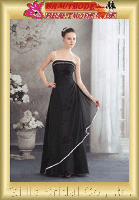 Chiffon pleated ruffle Fold Vertically Draped Spaghetti Long dress Floor-length A-line backless Open back Exquisite elegant modest dresses prom dresses evening dresses ball Ball Gown Prom Dresses Ball Gown prom dresses Black 800852