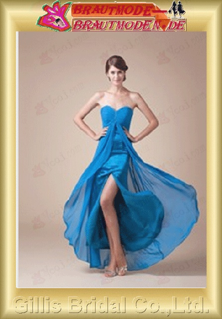 Taffeta Chiffon Vertically Draped beads Embroidery beaded Beading embroidery strapless Anke length A-line Simple Exquisite modest prom dresses evening dresses Ball Gown ball Ball Gown Prom Dresses Ball Gown prom dresses Blue 800861