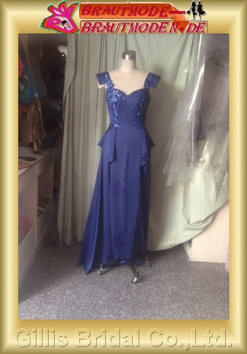 Taffeta Flouncing floating tablets beads Embroidery beaded Beading embroidery Zip Off-the-shoulder Sweep Brush backless Open back Simple Exquisite elegant modest dresses prom dresses Gorgeous floor-length gown evening dresses ball Ball 801290